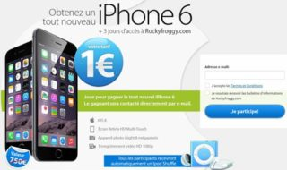 iPhone  6 et Galaxy S6 à 1€ : une arnaque qui fonctionne bien
