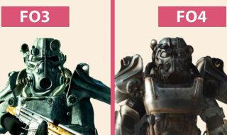 fallout 4 vs fallout 3 graphismes