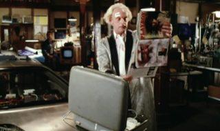 Retour vers le futur : une scène inédite avec Doc qui découvre Playboy