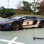 Lamborghini Aventador de Captain America