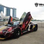 Lamborghini Aventador d'Iron Man