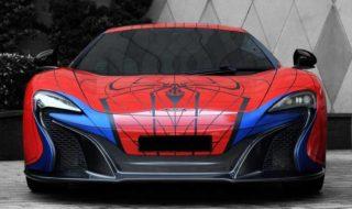 McLaren 650S Spider Man