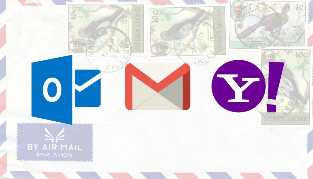 Email Google Yahoo Hotmail via John Atherton