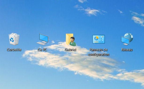 Windows 10 comment mettre les ic nes sur le bureau - Comment mettre des icones sur le bureau ...
