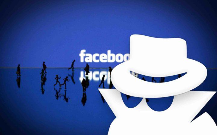 Ne pas être vu sur Facebook