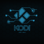Le splash screen de Kodi