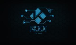 Le splash screen de Kodi