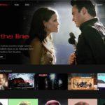 La page d'accueil de Netflix US