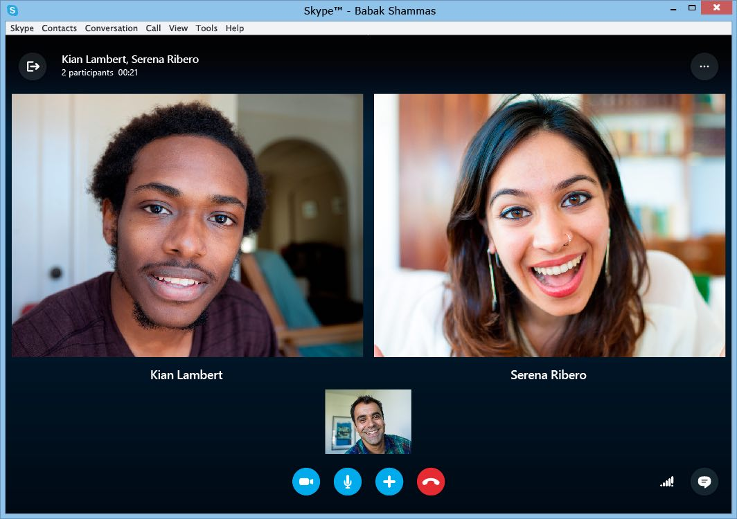 creer 2 comptes skype