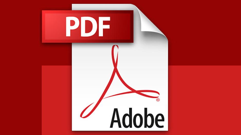 Le format Adobe PDF