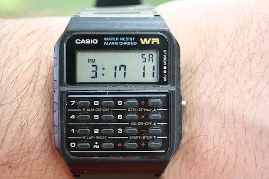 casio-wristwatch
