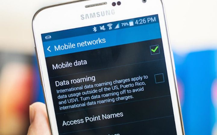 data roaming samsung galaxy