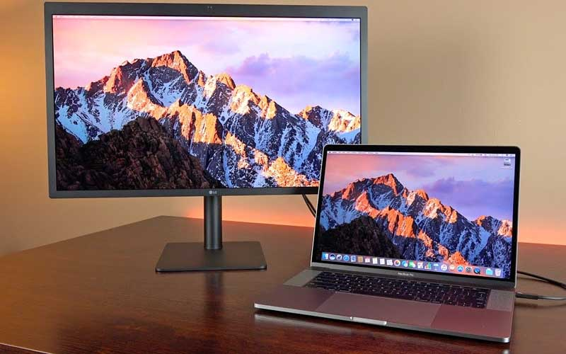 lg ultrafine 5k macbook pro