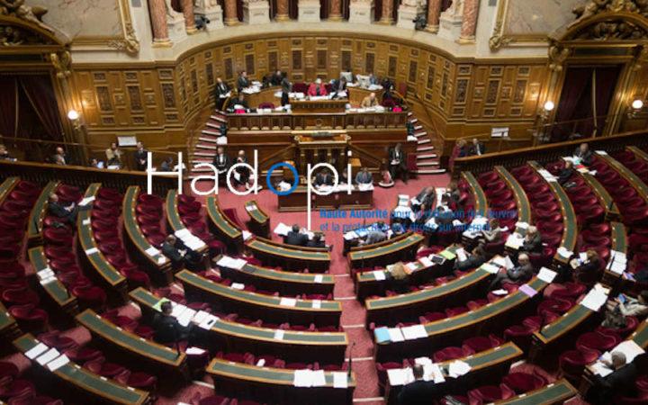 Hadopi : ivres, les sénateurs votent son maintien après 2022
