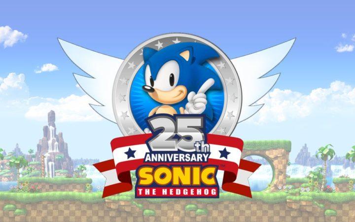 Sonic 25 ans anniversaire