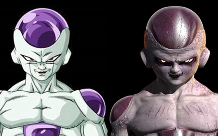 Dragon Ball Z : les versions réalistes de Freezer, Cell et Boo sont terrifiantes