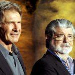 Harrison Ford George Lucas Indiana Jones