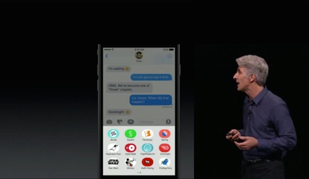 Il devient très facile aux développeurs de proposer des extensions, par exemple les fameux stickers que l'on retrouve chez Facebook