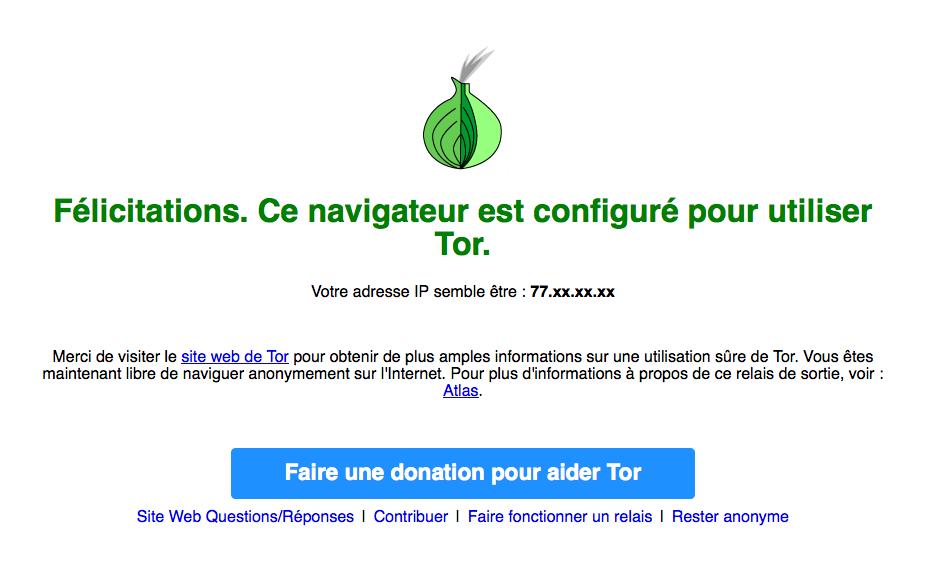 Tor connecté