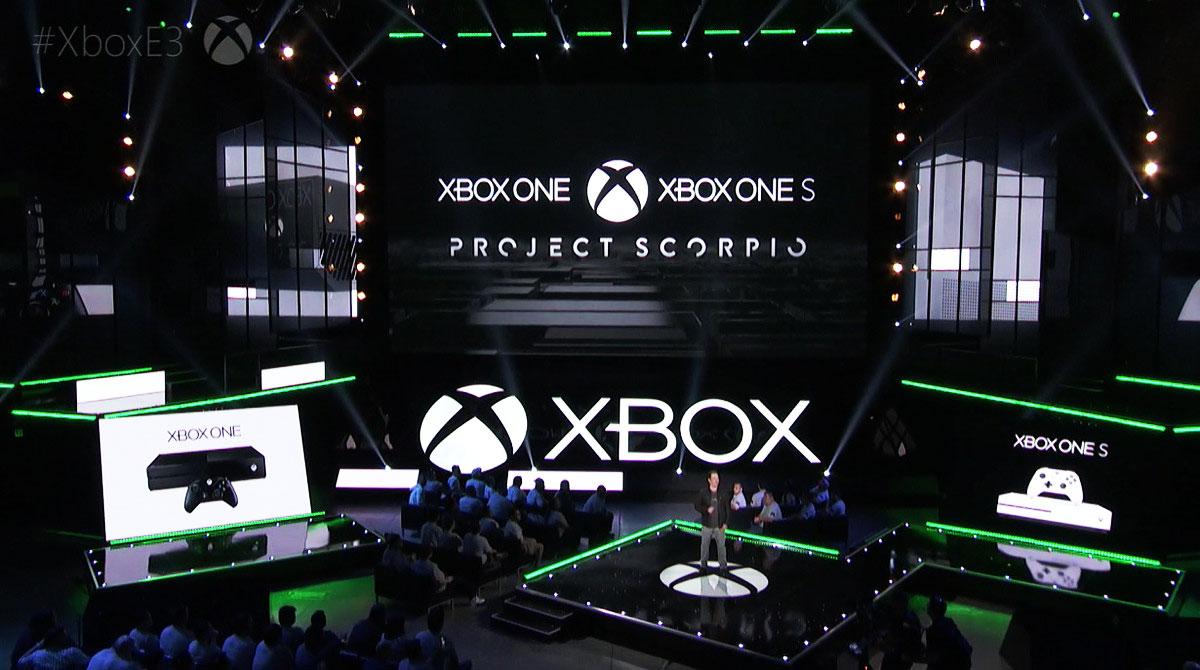 xbox one scorpio project