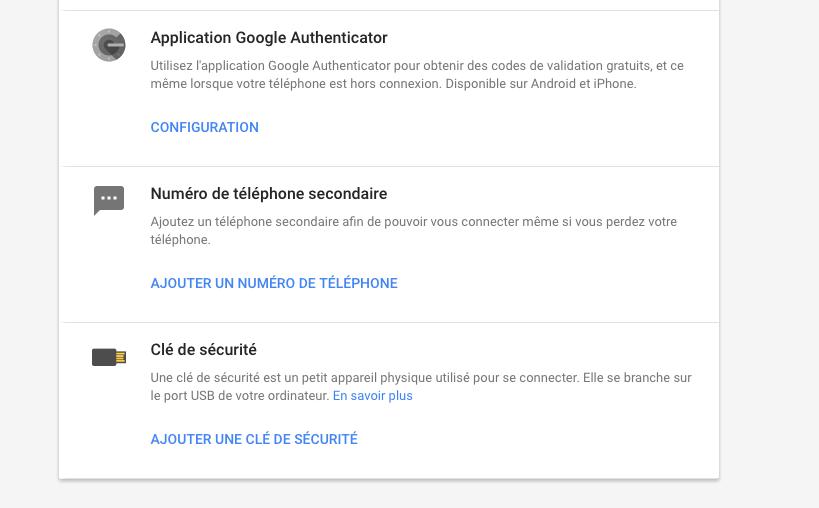 Configuration Google, Google+, Gmail : comment activer la double authentification pour mieux sécuriser votre compte
