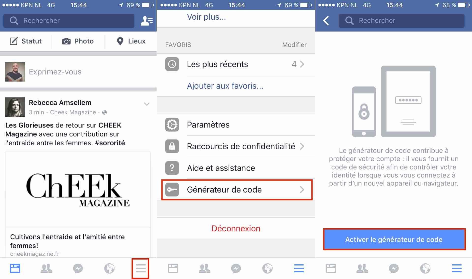 Facebook activer double authentification : comment activer la double authentification pour plus de sécurité
