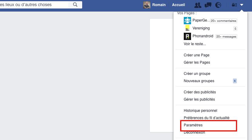 facebook parametres : comment activer la double authentification pour plus de sécurité