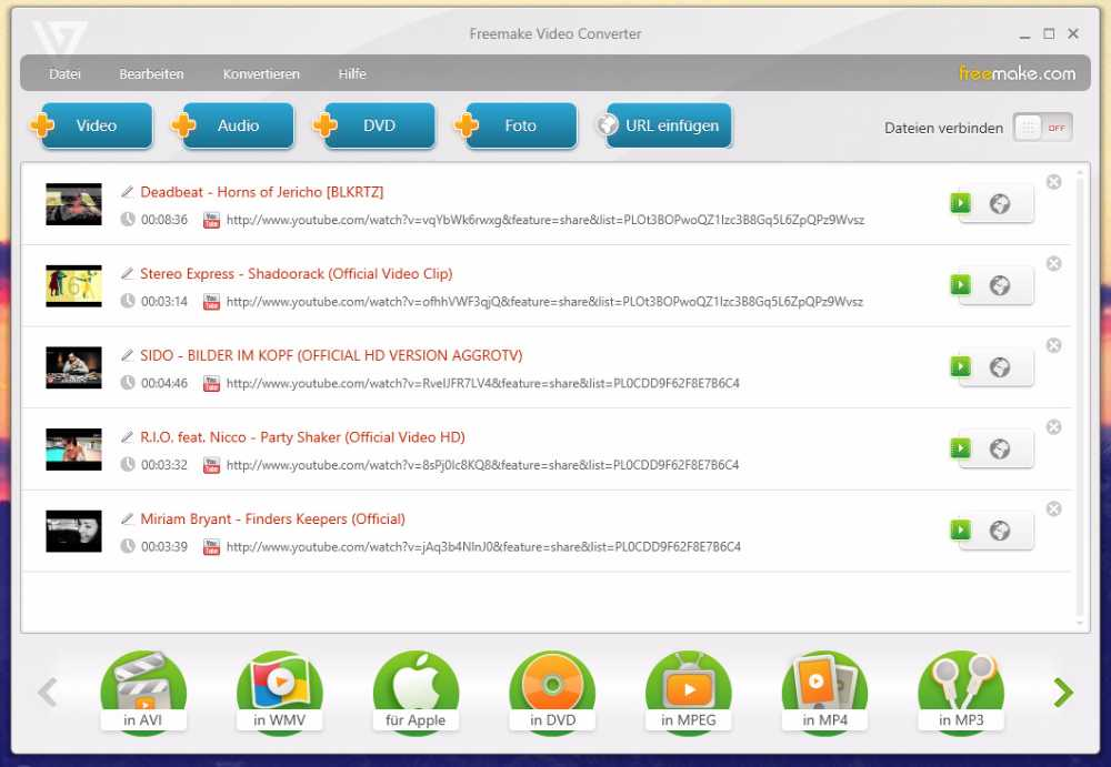 FreeMake Video Converter - Les meilleurs logiciels de montage video gratuits