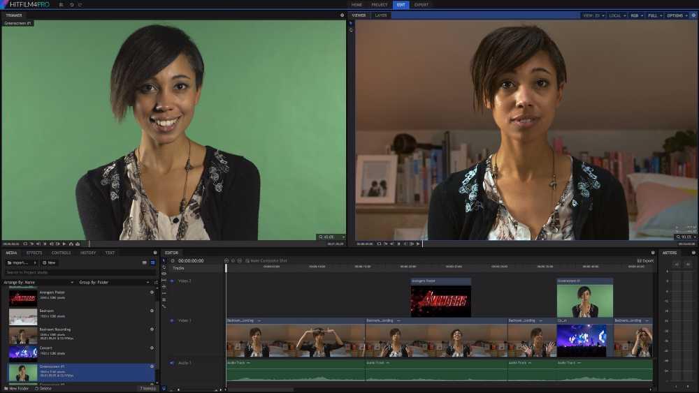 hitfilm 4 express - Les meilleurs logiciels de montage video gratuits