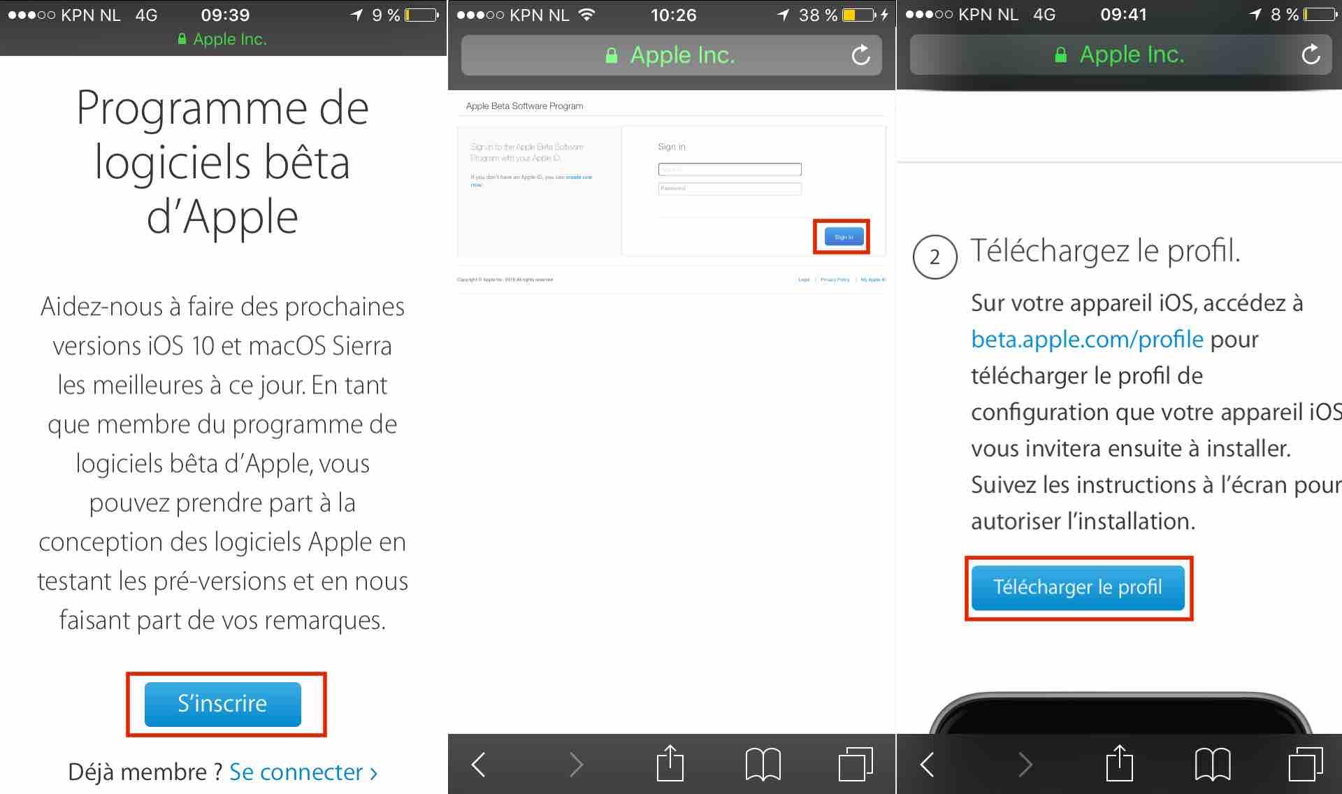 Inscrire iDevice Comment installer iOS 10 bêta sur votre iPhone, iPad et iPod Touch