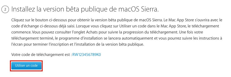 inscrire mac inscrire votre mac Utilitaire disque Comment installer macOS Sierra sur votre Mac