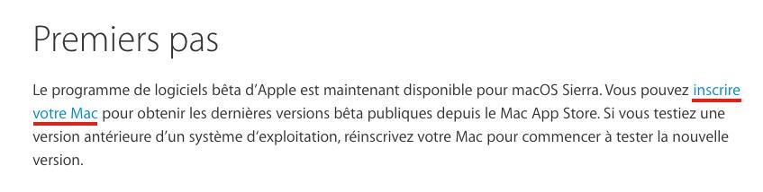 inscrire votre mac Utilitaire disque Comment installer macOS Sierra sur votre Mac