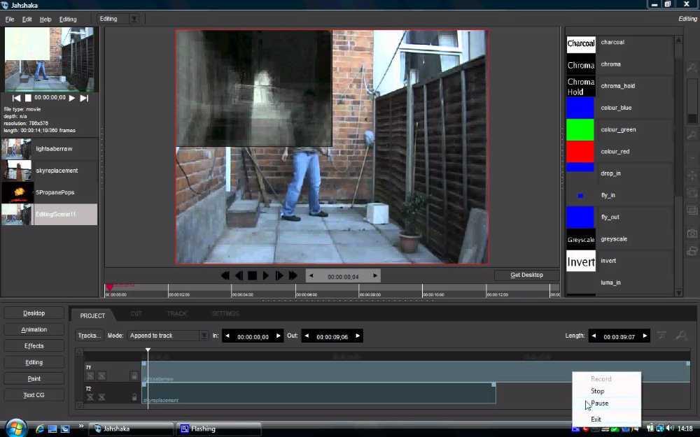 Jahshaka - Les meilleurs logiciels de montage video gratuits