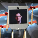 Edward Snowden version Snowbot