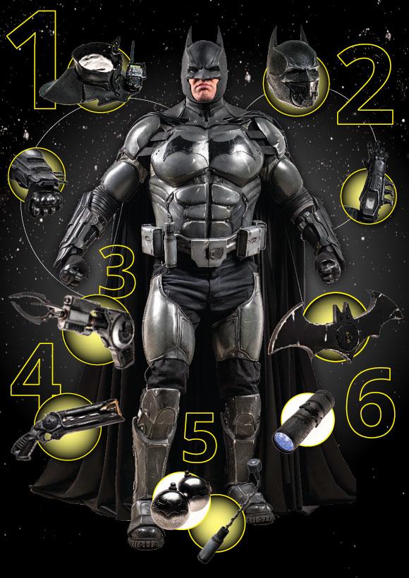 batman cosplay gadget guiness record