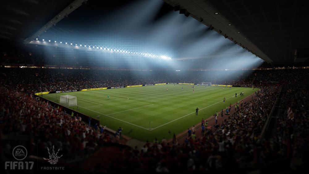 fifa 17 Old Trafford