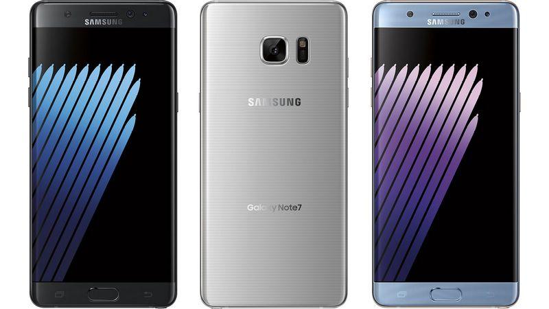 Galaxy Note 7 officiel : Samsung dévoile son nouveau smartphone aux bords incurvés