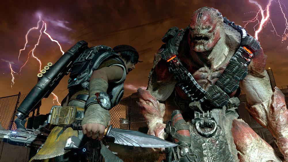 gears of war 4K pc