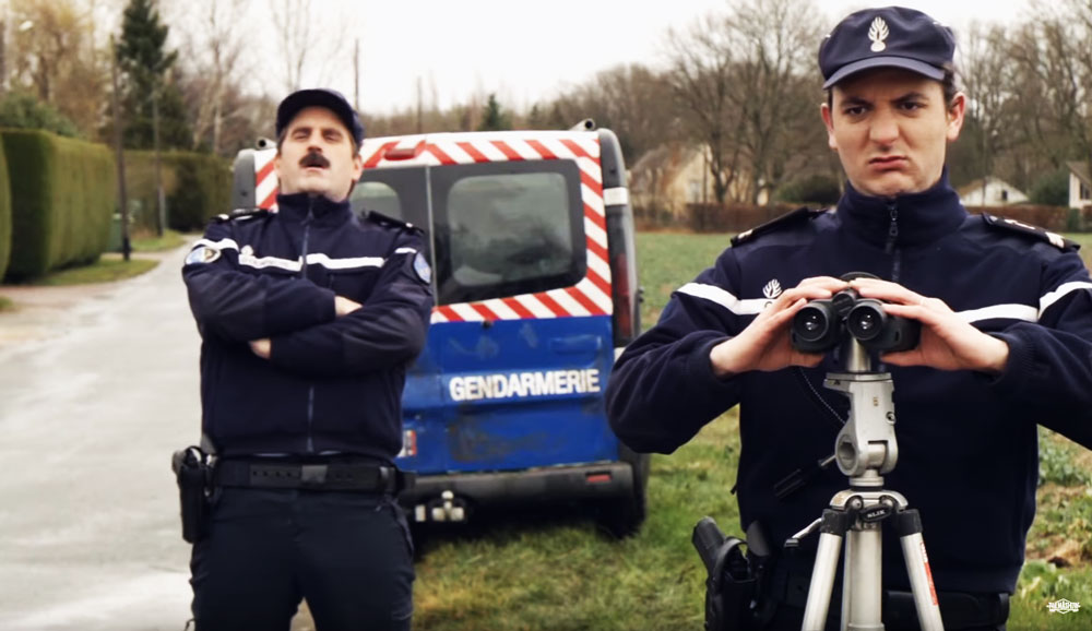 gendarmerie radar palma show