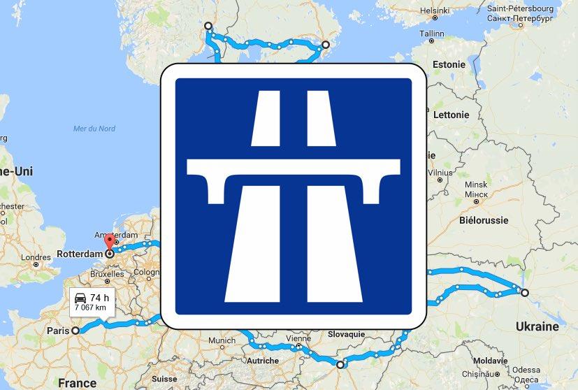 google maps comment planifier un road trip ou ajouter une tape votre itin raire. Black Bedroom Furniture Sets. Home Design Ideas