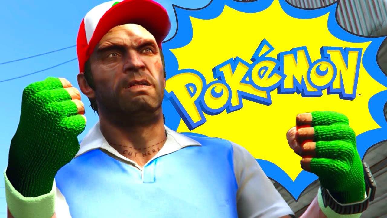 GTA V x Pokémon GO : kidnappez des gens avec des pokéballs grâce à un mod gratuit