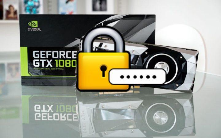 La Nvidia GTX 1080, une carte graphique taillée pour cracker des mots de passe