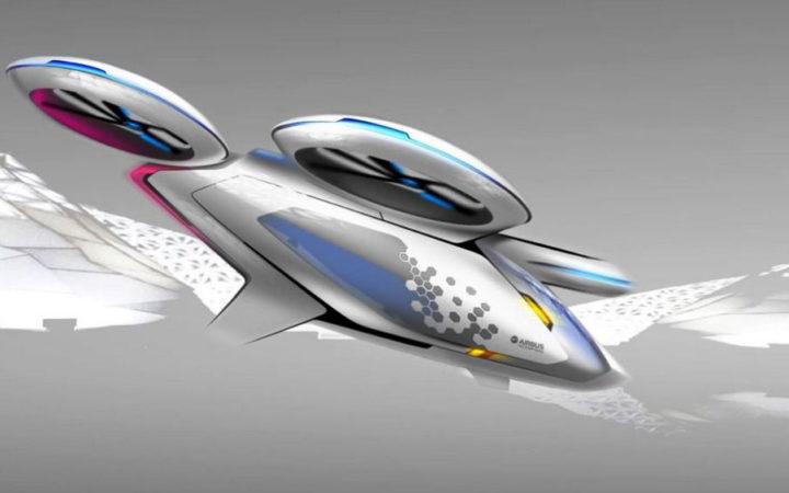 Découvrez les taxis volants du futur d'Airbus qui arrivent dès 2017