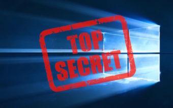 Windows 10 : comment débloquer les paramètres secrets