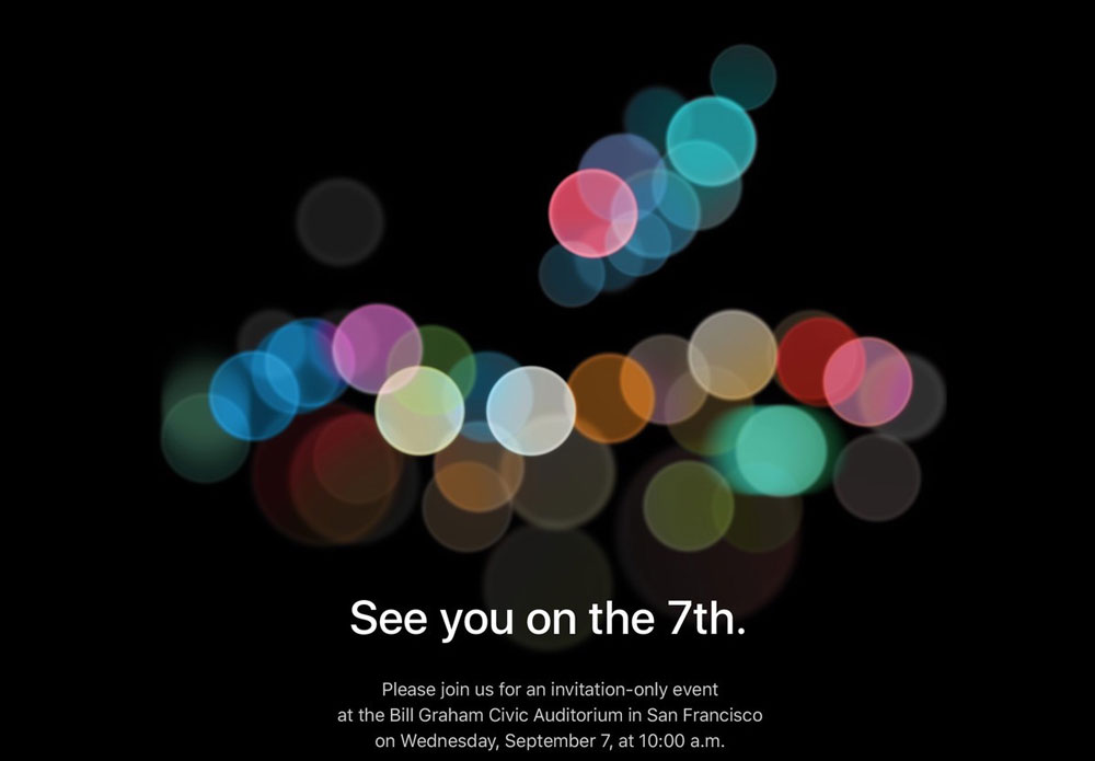 Keynote Apple 7 Septembre 2016
