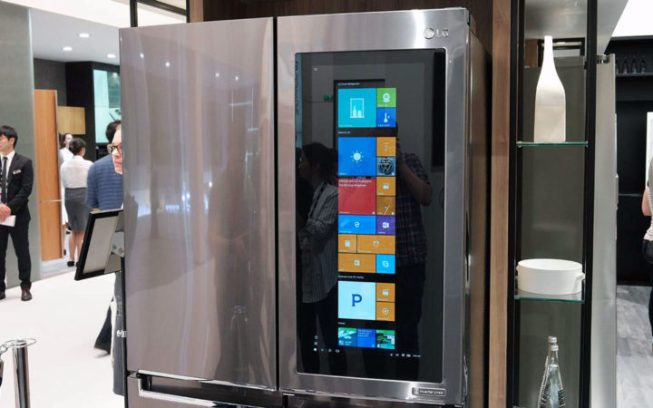 LG frigo windows 10