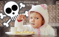 Les petits pots pour bébé contiennent des métaux lourds toxiques