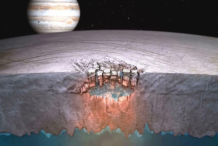Europe : la Nasa aurait la preuve qu'un océan existe sous sa surface gelée