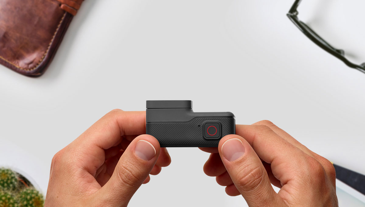 gopro hero 5 black bouton