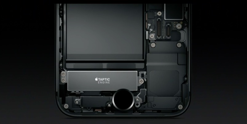 iphone 7 taptic engine haptique